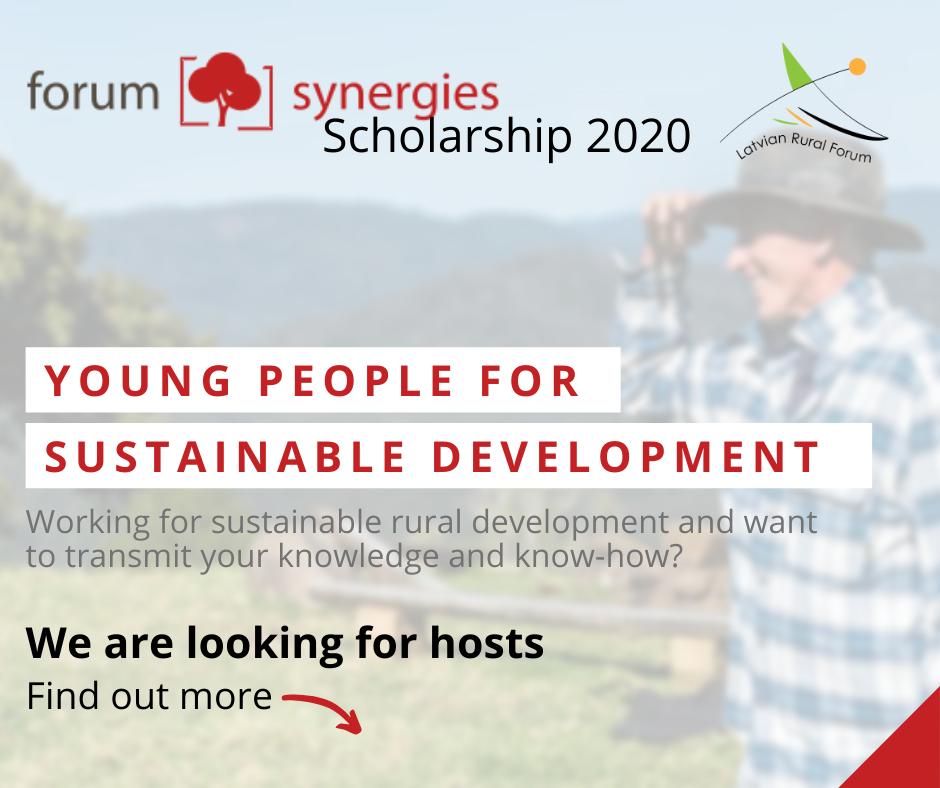 Scholarship programme 2020