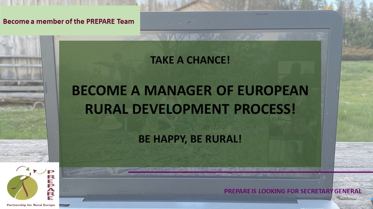 Become A Secretary General Of The Most Experienced Civil Rural Development Network Of Europe