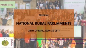 Webinar – National Rural Parliaments