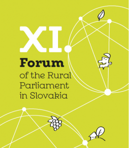 XI FORUM OF THE RURAL PARLIAMENT IN SLOVAKIA (23rd- 24th October)