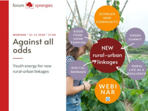 Webinar: AGAINST ALL ODDS – Youth energy for new rural-urban linkages