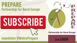 Subscribe for PREPARE newsletter