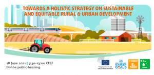 Towards a Holistic Strategy on Sustainable end Equitable Rural and Urban Development