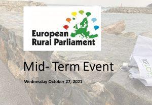 European Rural Parliament Mid- Term event